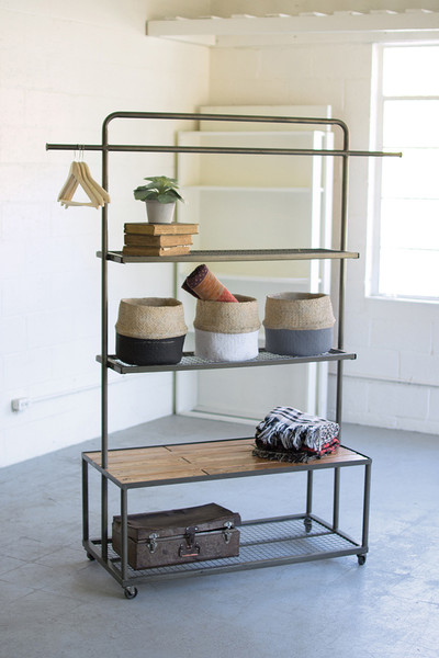 DISPLAY UNIT WITH WIRE MESH