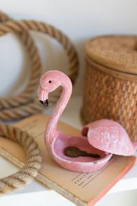 Funky Flamingo Hide-a-Key