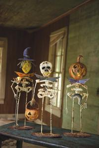 set of 3 halloween creatures
