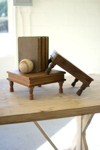 RECYCLED WOODEN RISER