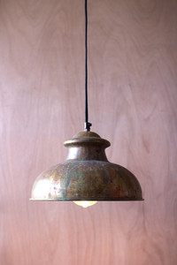 PENDANT #8-ANTIQUE RUSTIC