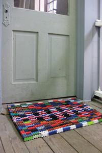 Recycled Flip-Flop Doormat